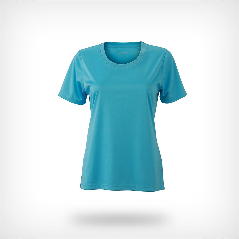 James & Nicholson dames t-shirt, JN357