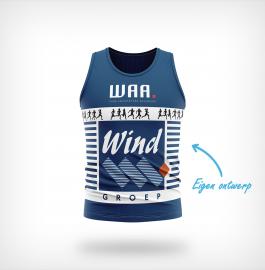 Juro Sportswear singlet eigen ontwerp